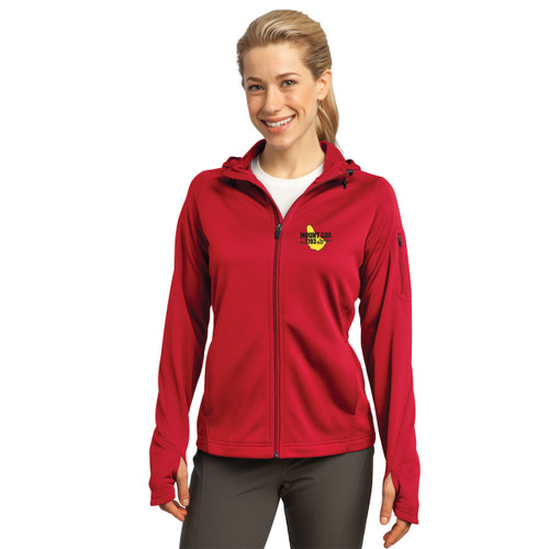 SALE! Mount Gay® Rum Women's Tech Fleece Full-Zip Hooded Jacket