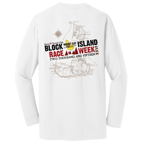 SALE! Mount Gay® Rum Block Island Race Week 2015 Wicking Shirt