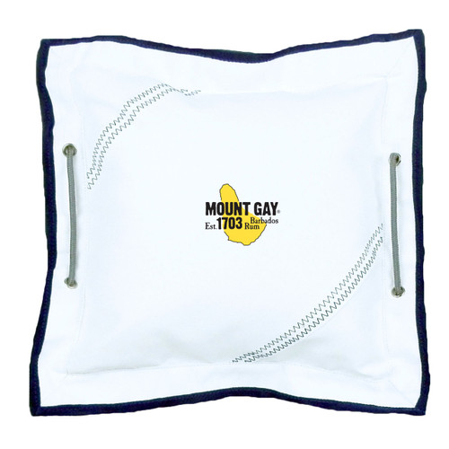 "Mount Gay® Rum Newport Pillow 12"" by SailorBags®"