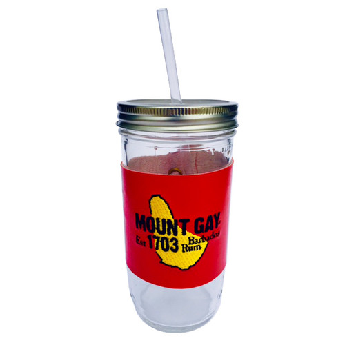 SALE! Mount Gay® Rum Mason Jar Tumbler by Mason Bar®