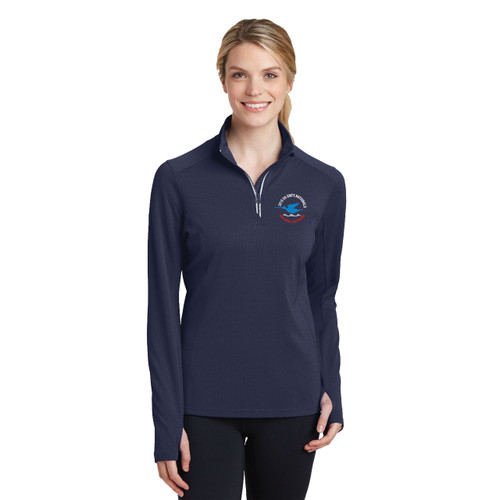 Snipe Nationals 2015 Women's Textured 1/4 Zip Wicking Pullover