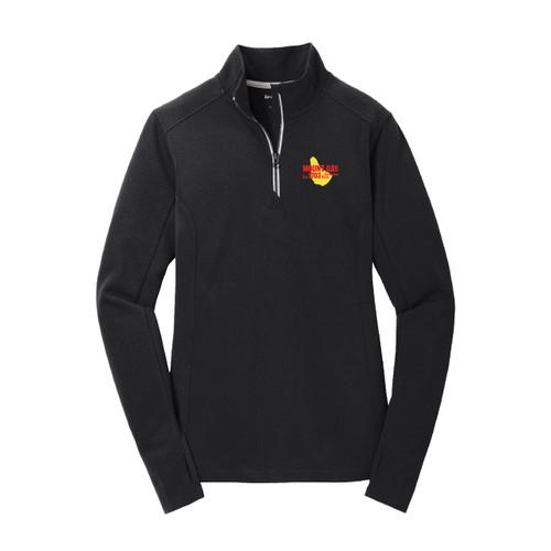Mount Gay®Rum Women's 1/4 Zip Wicking Pullover