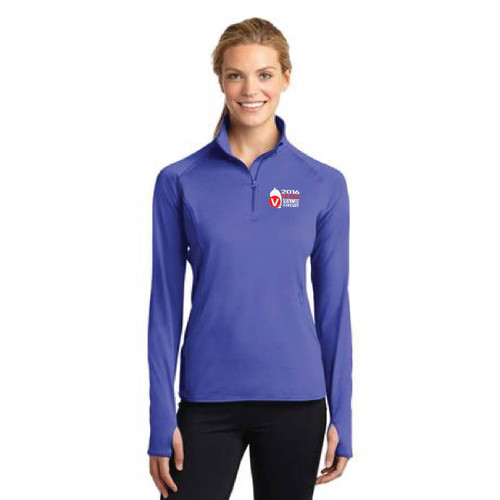 Viper 640 Southwest Circuit 2016 Women's Sport-Wick® Stretch 1/4 Zip Wicking Pullover