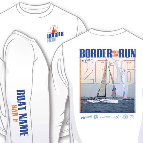 Border Run 2016 Men's Wicking Shirt