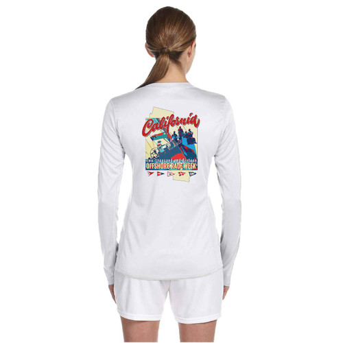 California Offshore Race Week  2016 Women's Wicking Shirt