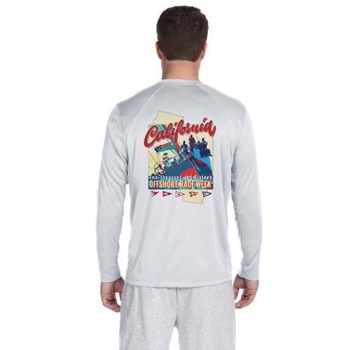California Offshore Race Week 2016 Men's Wicking Shirt