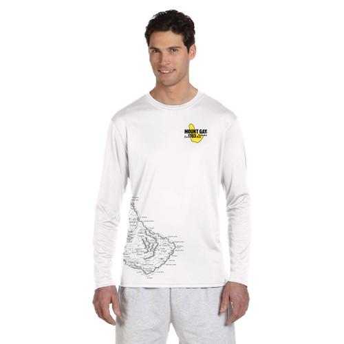 SALE! UPF 50+ Mount Gay® Rum Barbados Wicking Shirt
