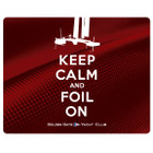 "AC34 GGYC ""Keep Calm and Foil On"" Mouse Pad"