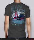 """SALE! AC72 """"Halftone"""" T-Shirt by Ultimate Sailing"""