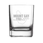 SALE! Mount Gay® Rum Engraved Premium Rum Glass