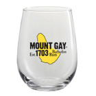 Mount Gay® Rum Stemless Wine Glass