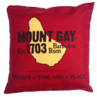 NEW! Mount Gay® Rum Throw Pillow