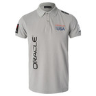 Oracle Team USA Men's Polo (Gray)