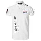 Oracle Team USA Men's Polo (White)