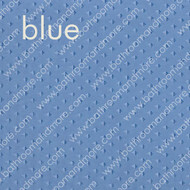 Blue Fabric Ruffled Double Swag Shower Curtain Liner Set- includes flat vinyl liner and 12 curtain rings