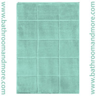 Blue Spa Retreat Memory Foam Bath Mat : Non Skid, Microfiber, Home Dynamix