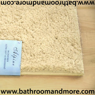 "Home Dynamix Beige Alpine Bath Mat- Absorbable and Ultra Plush 20.9"" x 33.9"" Non skid"