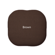 Memory Foam Chair/seat Cushion Pad : Non Slip - Brown