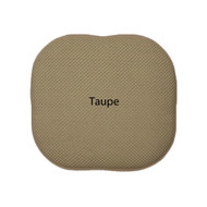 Memory Foam Chair/seat Cushion Pad : Non Slip - Taupe