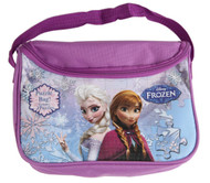 Disney's Frozen Carry and Go Puzzle in a Bag: Princess Anna and Elsa, 2 Puzzles, 48 Pcs.