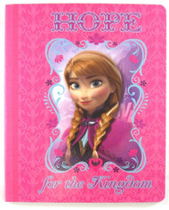 Disney's Frozen Notebook: 7.5 x 9.5in PINK - Anna