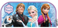 "Frozen Puzzle Pouch: 48 Pieces, 9"" x 10"", Anna, Elsa, Olaf and Kristoff"