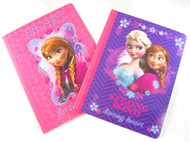 2pc Disney's Frozen Notebook: 7.5 x 9.5in Purple and Pink – Anna and Elsa