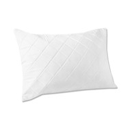 Memory Foam Pillow Protector: Quilted, Comfortable, Zippered