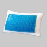 Cooling Gel Pillow Protector/Encasement: Zippered, Makes any pillow Cool and Comfortable