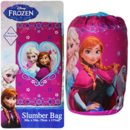 Disney Frozen Sleeping Bag/Backpack: Princess Elsa and Anna