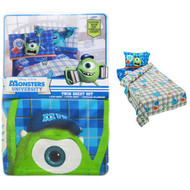 3-Pc Twin Bed Sheet Set: Disney Pixar Monsters University, Cotton Rich