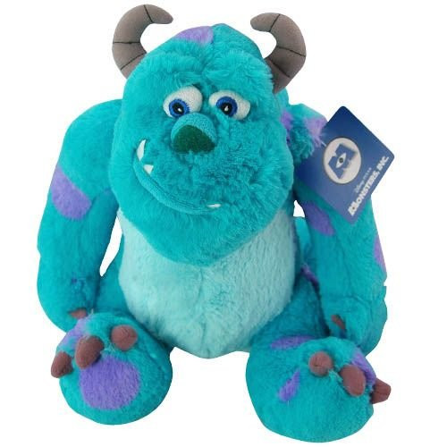 Monsters Inc Sulley Pillowtime Pal Plush Toy Disney