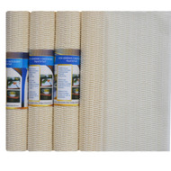 Ivory Non Slip Shelf and Drawer Liner:  Buy More and Save! Home, Car, RV, Boat, Garage, Keyboard Pad