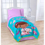 Disney Junior's Doc McStuffins Extra Soft Plush Blanket: 62in x 90in