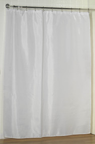 "Duck River Fabric Shower Curtain Liner White, 70"" x 72"""