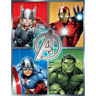 "Avengers Assemble Plush  Microfiber Throw Blanket - 46"" x 60"""