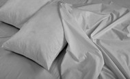 Silver 4 Piece Sheet Sets: Deep Pockets, Super Soft Microfiber