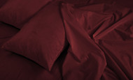Maroon 4 Piece Sheet Sets: Deep Pockets, Super Soft Microfiber