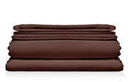 "Chocolate Brown King Size 6-Piece Sheet Sets: 10"" Pocket, Super Soft Microfiber, 4 Pillowcases"