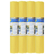 Yellow  Non Slip Shelf and Drawer Liner:  Buy More and Save! Home, Car, RV, Boat, Garage, Keyboard Pad