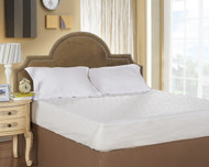 Quick Fit Quilted Mattress Pad: Waterproof, Breathable and Soft