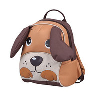 Playful Puppy Backpack: Leash Harness, 3-D Design