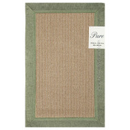 Green Floor Mat Area Accent Rug: Non-Skid Backing, 2 Sizes Available