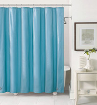Sea Foam PEVA 6 Gauge Shower Curtain Liner: Mildew Resistant, Chlorine Free, Odorless, Water-Repellent, Grommets and Magnets