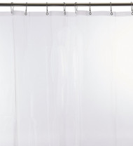 Carnation Home Fashions PEVA Shower Curtain Liners, 72-Inch by 72-Inch, Super Clear
