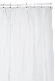Extra Heavy Gauge Mildew Resistant Shower Curtain Anti-bacterial Heavy-Duty Waterproof Liner - 72x78 Inch (Frosted Clear)