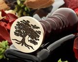 Tree 5 wax seal