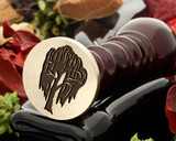Weeping willow wax seal