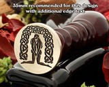 Celtic 'The Lovers' Wax Seal Stamp