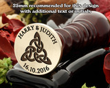 Celtic D6 Wax Seal ( text extra cost )